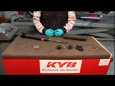 Support zone : KYB Shock Absorbers